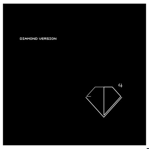 Diamond,Version,,EP4,12,Diamond Version, EP4, LP, vinyl, Mute