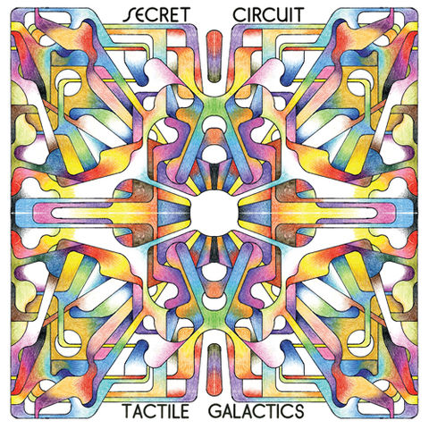 Secret,Circuit,‎–,Tactile,Galactics,2xLP,Secret Circuit, Tactile Galactics, Beats In Space Records, LP, vinyl