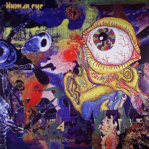 Human,Eye,‎–,4:,Into,Unknown,LP,Human Eye, 4: Into Unknown, Goner, LP, vinyl
