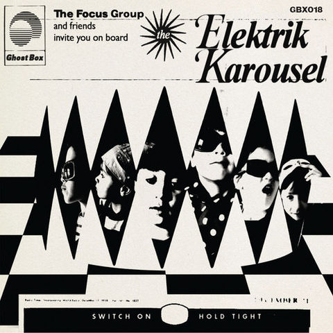 The,Focus,Group,‎–,Elektrik,Karousel,LP,The Focus Group, Elektrik Karousel, Ghost Box, LP, vinyl