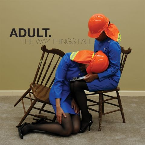 ADULT.,‎–,The,Way,Things,Fall,LP, The Way Things Fall, Ghostly, 2xLP, vinyl