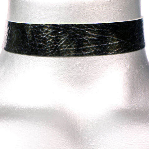 20mm,(3/4),Shiny,Black,Storm,Leather,Choker,Collar,Necklace,black leather choker, black choker, blue ribbon choker, ribbon choker, leather choker, ribbon choker necklace, checkerboard choker