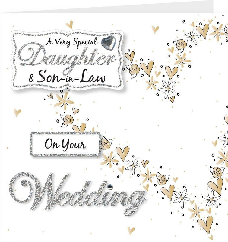 Daughter Son In Law On Your Wedding