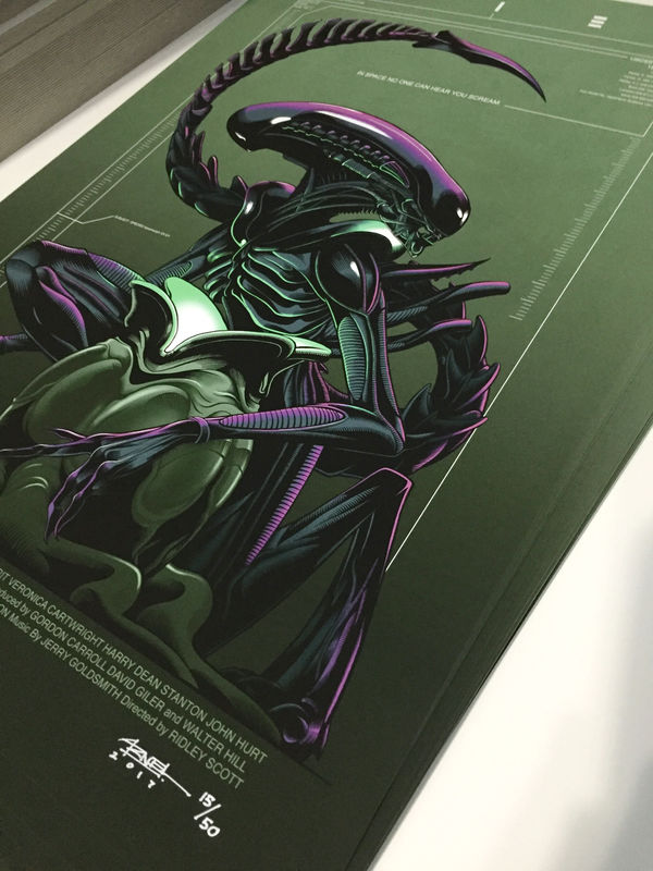 Pre-Order ONLY Alien - SDCC17 Limited Edition Exclusive - product images  of
