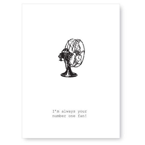 I'm,Always,Your,#1,Fan,Greeting,Card,fan, friendship, card, greeting card, tokyo milk