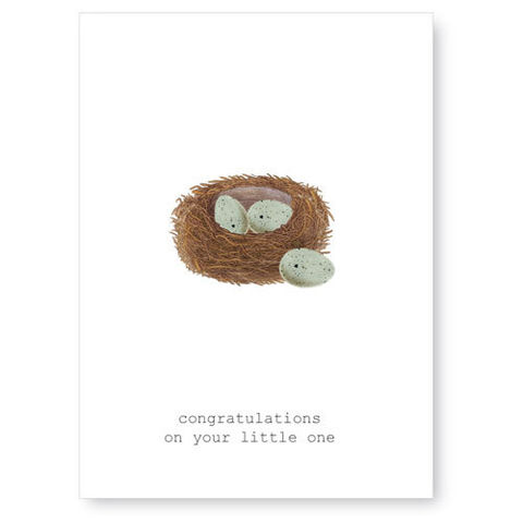 Congratulations,On,Your,Little,One,Greeting,Card,new baby, greeting card, tokyo milk
