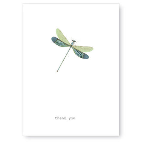 Thank,You,(Dragonfly),Greeting,Card,thank you, greeting card, dragonfly, tokyo milk