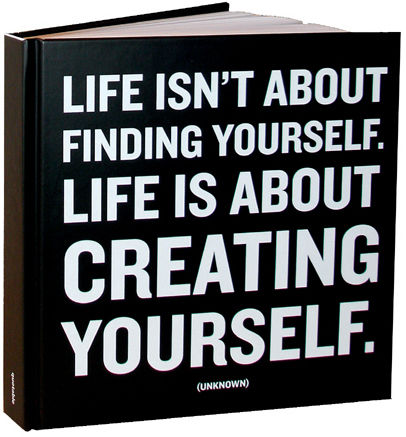 creating,yourself,quotable,journal, journal