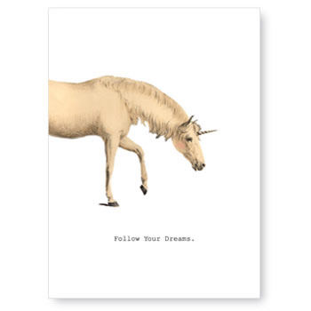 Follow,Your,Dreams,(Unicorn),Card,tokyo milk, greeting card