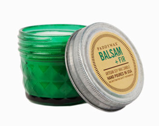 Balsam,+,Fir,Mini,Jar,Candle,paddywax, balsam, relish