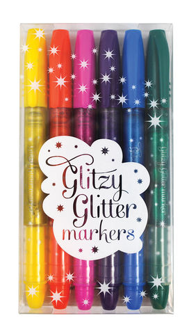 Glitzy,Glitter,Markers,international arrivals