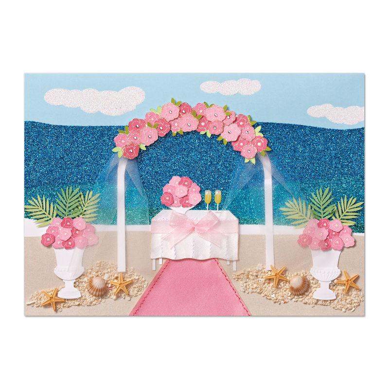 Beach wedding scene anas papeterie greeting cards stationery beach wedding scene anas papeterie greeting cards stationery and gifting boutique m4hsunfo