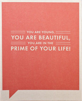 Prime,of,Your,Life,Card,frank and funny, compendium, birthday