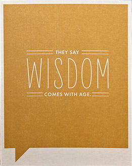 Signs,of,Wisdom,Card,frank and funny, compendium, birthday