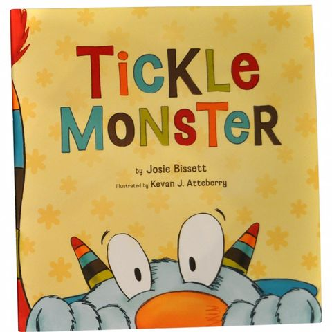 Tickle,Monster,Book,compendium, tickle monster, book