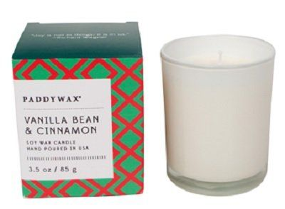 Vanilla,Bean,+,Cinnamon,Little,Happy,Candle,paddywax, candle, little, happy, candles, vanilla bean and cinnamon, holiday, christmas