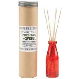 Pomegranate,+,Spruce,Relish,Diffuser,paddywax, pomegranate spruce, relish, diffuser, handmade, soy wax