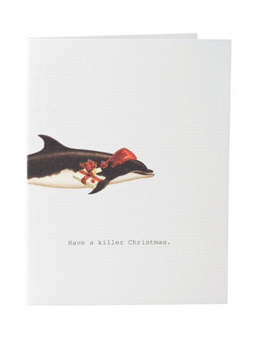 Tokyomilk greeting cards collection anas papeterie greeting haveakillerchristmaswhalegreetingcard m4hsunfo Gallery