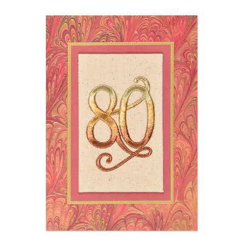 80th,Birthday,papyrus, 80th, birthday, handmade, greeting card, international, hong kong, eighty