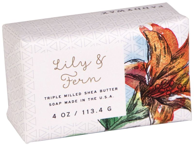 lily triple milled soap