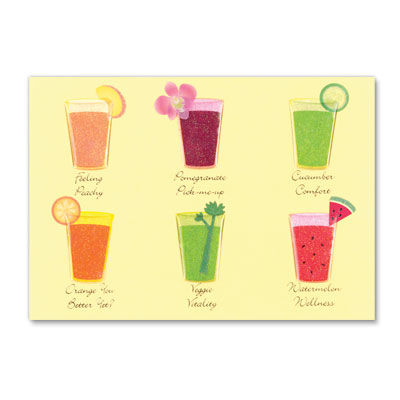 Smooth,Recovery,Smoothie,papyrus, get well, handmade, international, hong knog
