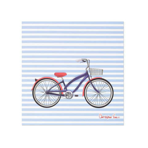 Classic,Nautical,Bike,papyrus, birthday, handmade, greeting, card, bike, bicycle, international, hong kong