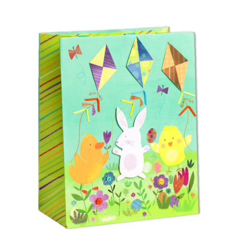 Easter gift bags easter treat bags wrap collection anas easterdeliverylargebagpapyrus handmade gift bag negle Image collections