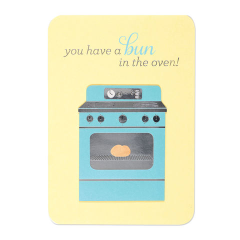 Bun,in,the,Oven,papyrus, handmade, greeting, card, cooking, kitchen, new baby, international, hong kong