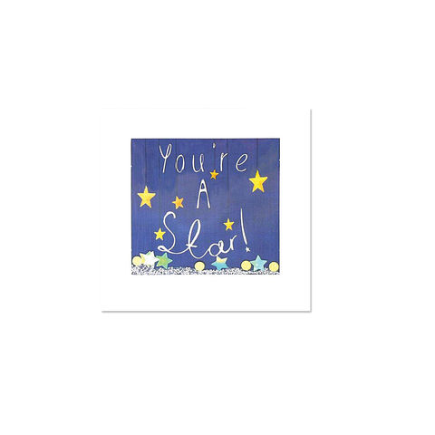 You're,a,Star,Shakie,papyrus, handmade, greeting, card, congratulations, international, hong kong