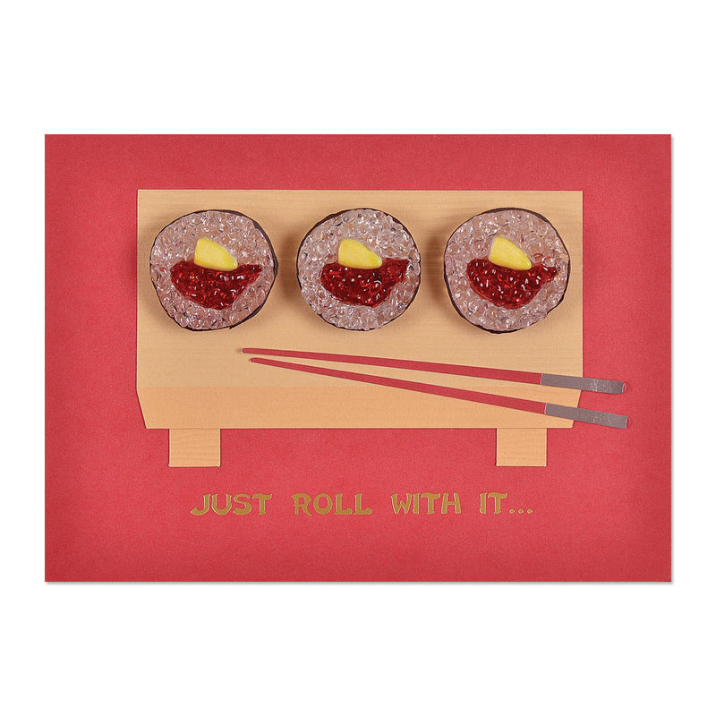 Sushi roll trio anas papeterie greeting cards stationery and sushi roll trio anas papeterie greeting cards stationery and gifting boutique m4hsunfo Gallery