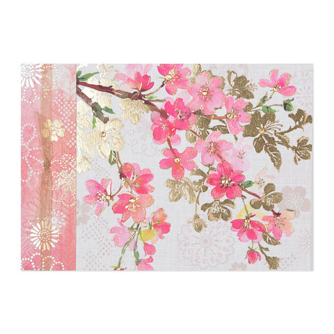 Asian,Cherry,Blossoms,papyrus, handmade, greeting, card, birthday, asian, cherry, blossoms, international, hong kong