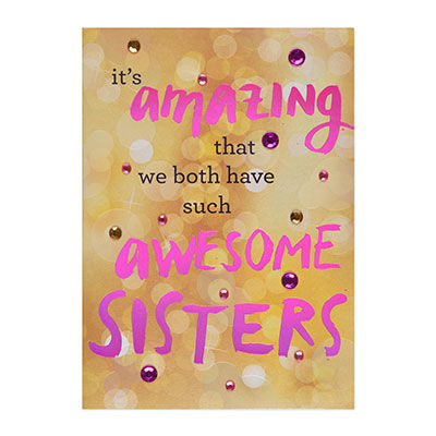 Sassy,Birthday,Wishes,(Sister),papyrus, handmade, greeting, card, sister, sisters, sassy, birthday