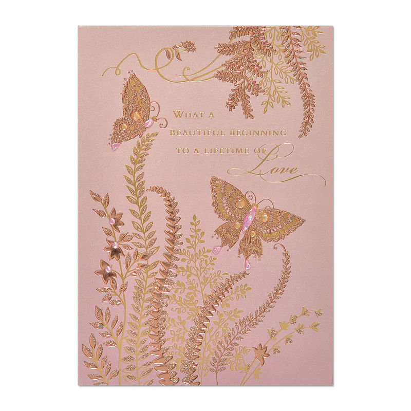 Butterflies & Vines Engagement - Ana\'s Papeterie | Greeting Cards ...
