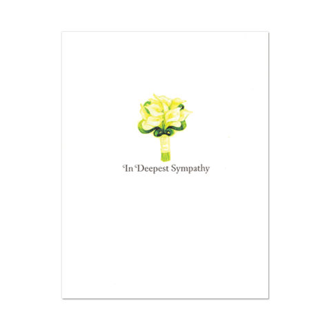 Sympathy,Lilies,with,Glitter,papyrus, handmade, greeting, card, sympathy, lilies, flowers, floral, flower, glitter, international, hong kong