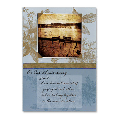 Two,Chairs,with,Quote,papyrus, handmade, greeting, card, two chairs, quote, anniversary, love, romance, international, hong kong