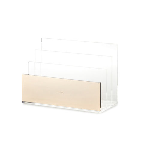 Gold,File,Organizer,by,Kate,Spade,New,York,kate spade, new york, gold file, organizer, sort it out, strike, office supplies, international