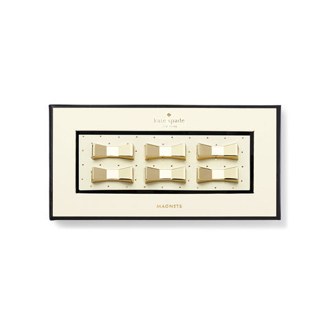 Bow,Lovely,Magnet,Set,by,Kate,Spade,New,York,kate spade, new york, bow lovely, magnet set, international
