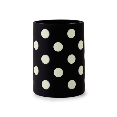 Black,Dots,Cozy,by,Kate,Spade,New,York,kate spade, new york, black dots, cozy, drink, let's chill, international