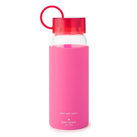 Pink,Colorblock,Water,Bottle,by,Kate,Spade,New,York,kate spade, new york, pink, colorblock, water, bottle, international