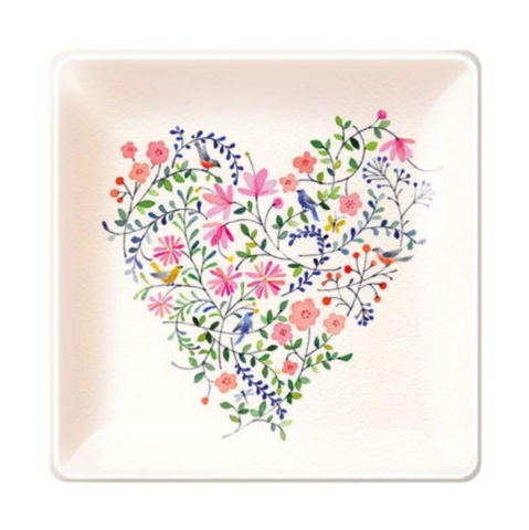 Twiggy,Heart,Small,Square,Tray,twiggy, heart, small, square, tray, fringe, studio, spring, 2016, mother's, mother, moms, mom, day, may 8th, eighth