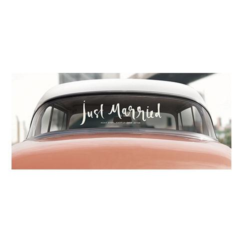 just,married,bridal,decal,by,kate,spade,new,york,just married, bridal, decal, kate spade, new york, international