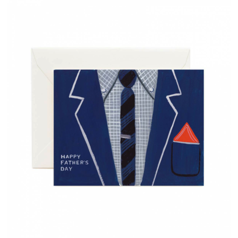 Father's,Day,Suit,Card,father's day, father, dad, daddy, june 18th, rifle paper co., fancy, suit, tie, international