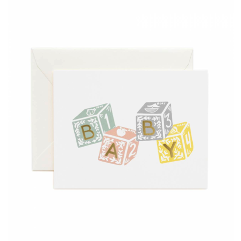 Baby,Blocks,new baby, blocks, rifle paper co., international