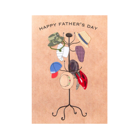 Hats,Off,papyrus, father's, father, dad, daddy, day, june 19th, nineteenth, greeting, card, cards, hats, off, international, hong kong