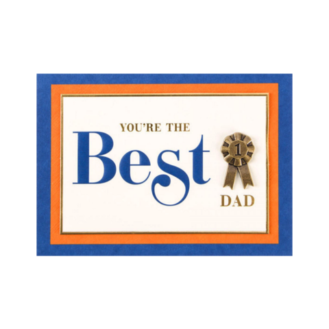 You're,The,Best,papyrus, father's day, father, fathers, dad, dads, daddy, june 19th, june nineteenth, handmade, greeting, card, cards, international, hong kong