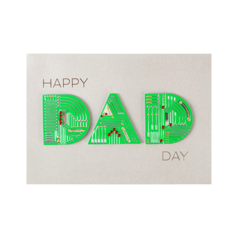 Techy,Dad,papyrus, handmade, greeting, card, cards, father's day, father, fathers, dad, dads, daddy, june 19th, nineteenth, techy, technology, technologic, international, hong kong