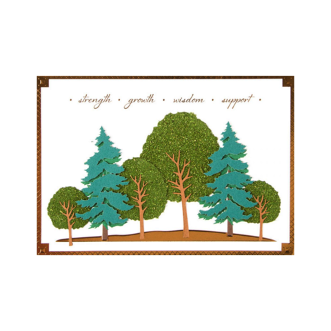 Wisdom,Trees,papyrus, handmade, greeting, card, cards, father's day, father, fathers, dad, dads, daddy, june 19th, trees, nature, wisdom, intellectual, inspirational, international, hong kong