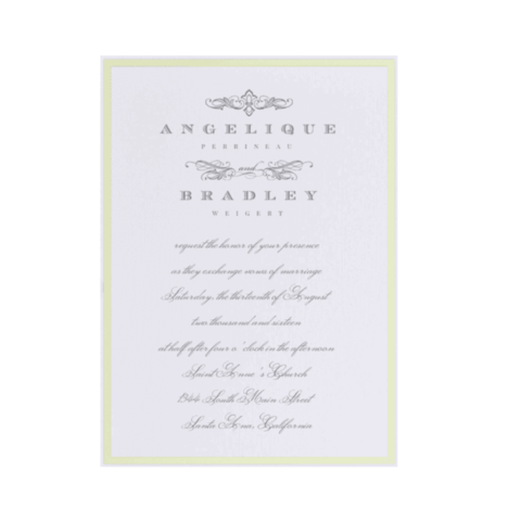 A,Flourished,Affair,Wedding,Invitations,with,Envelopes,envelopments, custom printing, wedding invitations, a flourished affair, dealer, international