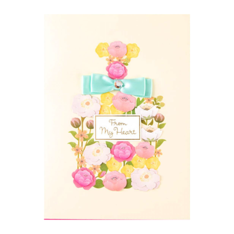 Flower,Perfume,Bottle,by,Taylor,Swift,papyrus, greeting, card, handmade, taylor, swift, flower, floral, perfume, bottle, birthday, international, hong kong