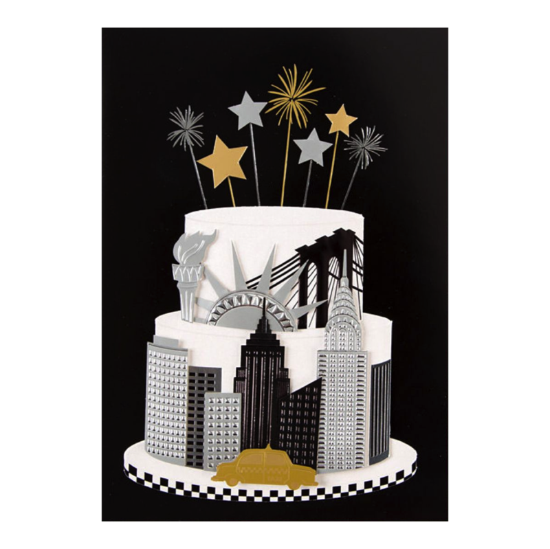 New York Cake by Taylor Swift - Ana's Papeterie | Greeting ...